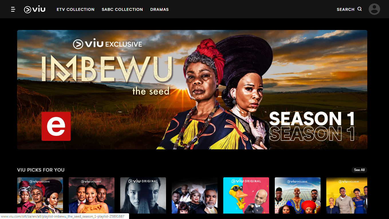 Global streaming service 'Viu' officially launches in South