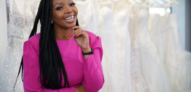 Thembisa Mdoda to host new reality show, 2 Families and a Wedding Dress, BET Africa
