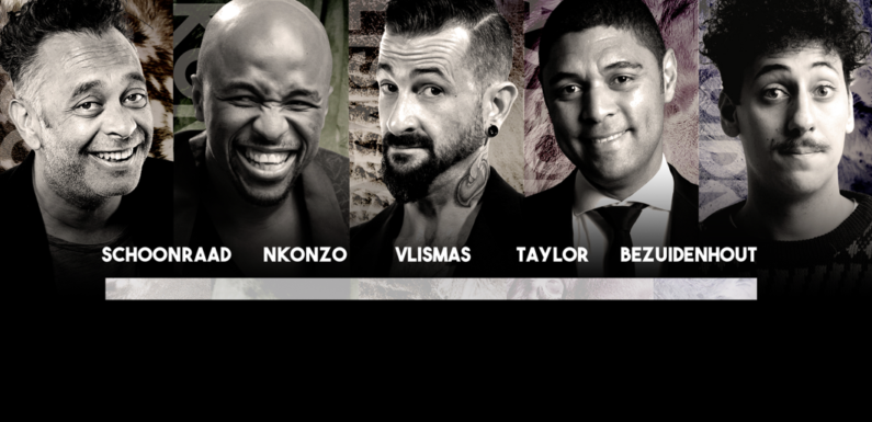 The big 5 comedy show's all new high-sterics line-up