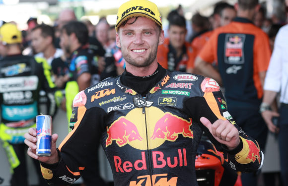 Brad Binder becomes first sportsman to get his own Red Bull can