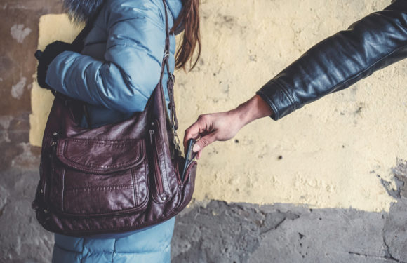 Handbag theft – a reminder to be vigilant