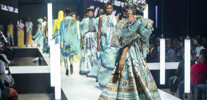 Tastic rice presents David Tlale's SS20 showcase at AFI Johannesburg Fashion week