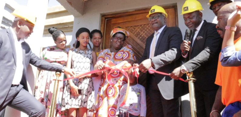 Afribiz Invest committed to building decent homes for the less fortunate