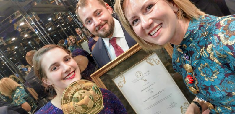 Gåte at Quoin Rock the 2019 Haute Cuisine Global Winner