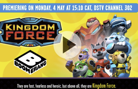 New series, Kingdom Force, premieres on Boomerang in May