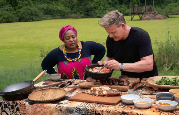 Popular Chef Zola Nene explores uncharted territories with Gordon Ramsay