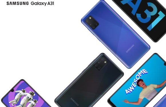 Samsung Galaxy A31 now available on Telkom
