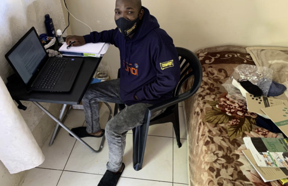 Fundi traces homeless student to enable his learning dreams