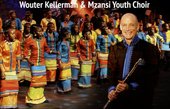 Wouter Kellerman and Mzansi Youth Choir pay tribute to healthcare workers around the world