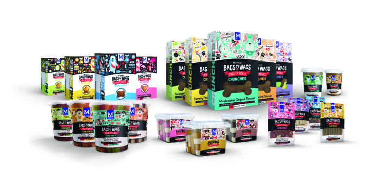 Montego's Bags O' Wags treats range expands with new look and exciting flavours