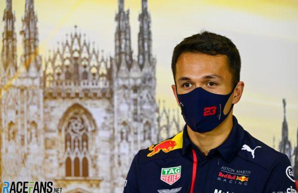 Alex Albon praises superhuman efforts of F1 mechanics