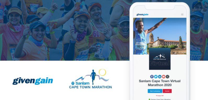 Sanlam Cape Town Virtual Marathon enables fundraising through Givengain